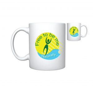 Free to be me Mug - Upcoming Naturist Events - The Australian Naturist Magazine