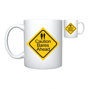 Caution Mug - TAN Magazine - The Australian Naturist Magazine