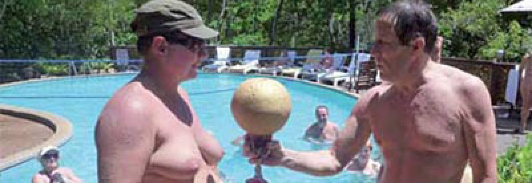 Nude Water Volleyball International Championships - The Australian Naturist Magazine